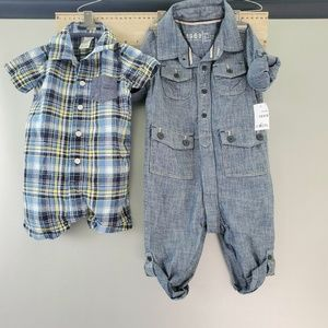 BABY GAP and CARTER'S 2 Piece Bundle 6-12 Months